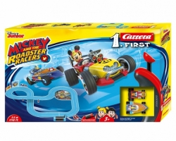 Autodráha Carrera FIRST  63013 Mickey Racers